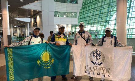 Спортсмены республиканской сборной по карате отправились на Чемпионат Японии