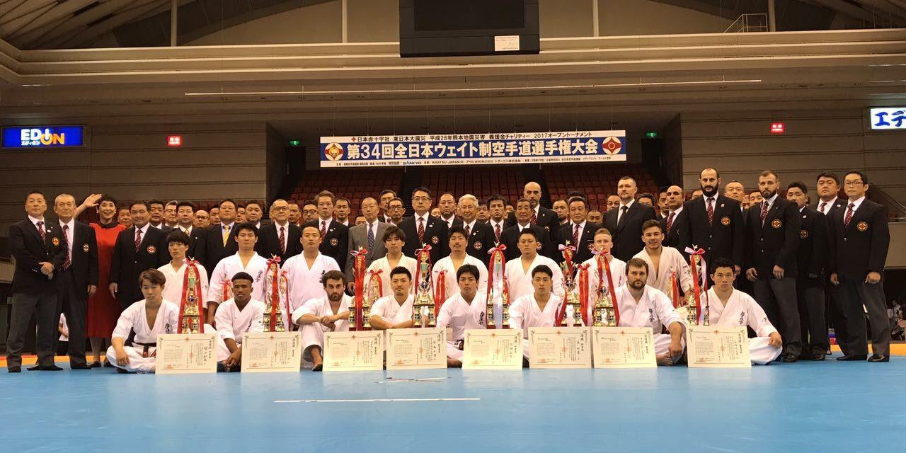 Два спортсмена сборной Республики по карате вошли в восьмерку лучших Чемпионата Японии