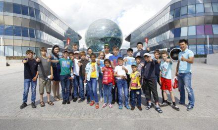 Юные каратисты из Аккольского детского дома посетили  «ЭКСПО-2017»