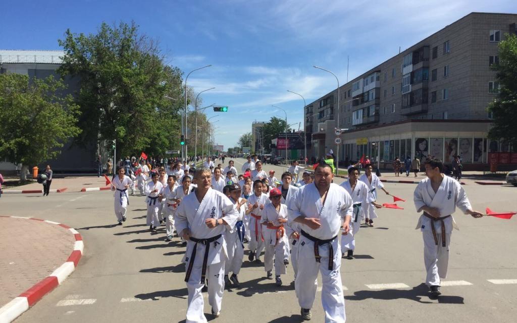В Кокшетау прошел традиционный массовый забег посвященный Дню защиты детей