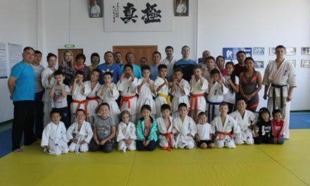 Совместная тренировка учеников и родителей