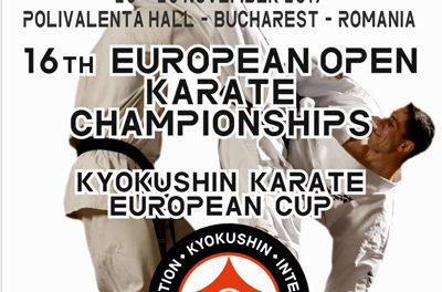 16 Чемпионат и Кубок Европы по Киокушинкай-кан каратэ