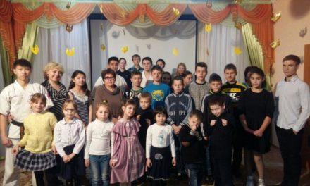 В канун Нового года каратисты посетили Темиртауский детский дом