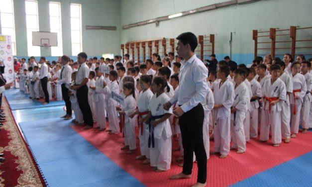Киокушинкай-кан каратэден Медеу ауданының біріншілігі өтті