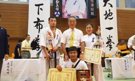 В городе Токио закончился абсолютный чемпионат Японии по киокушинкан каратэ