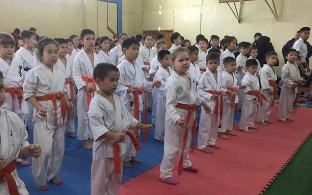 Открытый Чемпионат Акмолинской области по Киокушинкай-кан каратэ