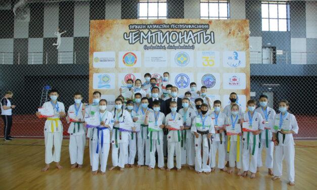 Итоги первого дня Объединенного Чемпионата Республики Казахстан по Киокушин каратэ
