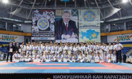 Фотоотчет с чемпионата Республики Казахстан по киокушинкай-кан карате