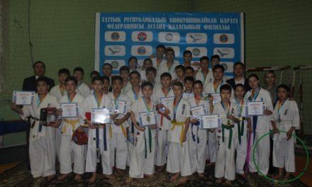 XV открытое первенство по киокушинкай-кан каратэ среди юношей и девушек района «Сарыарка»