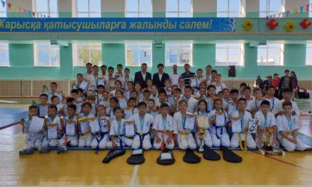 Сәтбаев қаласында киокушинкай Кан каратэден Облыстық турнир өтті