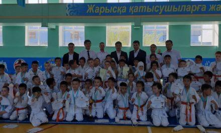 Открытое Первенство города Сатпаев по киокушинкай-кан каратэ среди детей,младших юношей, юношей и девочек посвященный Дню Победы