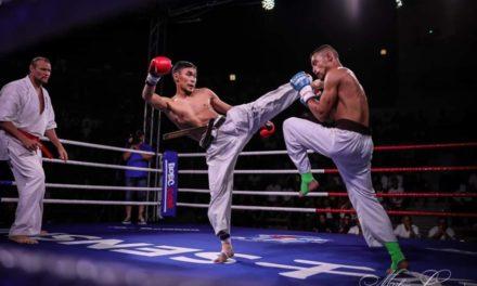 Спортсмены национальной сборной РНФКК выступили в профессиональных боях SENSHI